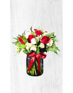 Flowerpots in water