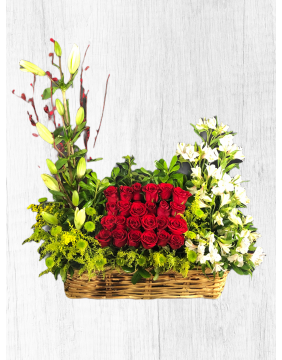 Give flowers all month
